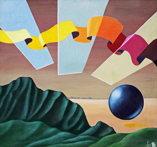 Paisagem surreal - Walter Lewy